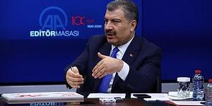 Sağlık Bakanı Koca 'Risk Kapıya Geldi' Dedi ve Ekledi: '4 Sınır Kapısında Sahra Hastaneleri Oluşturuldu'