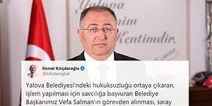 CHP'li Yalova Belediye Başkanı Vefa Salman'ın Görevden Alınmasına Sosyal Medyadan Tepkiler