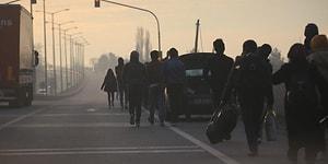 Edirne'den Sınıra Yürüyüş Başladı: Türkiye, Tüm Mültecilere Avrupa Kapılarını Açtı