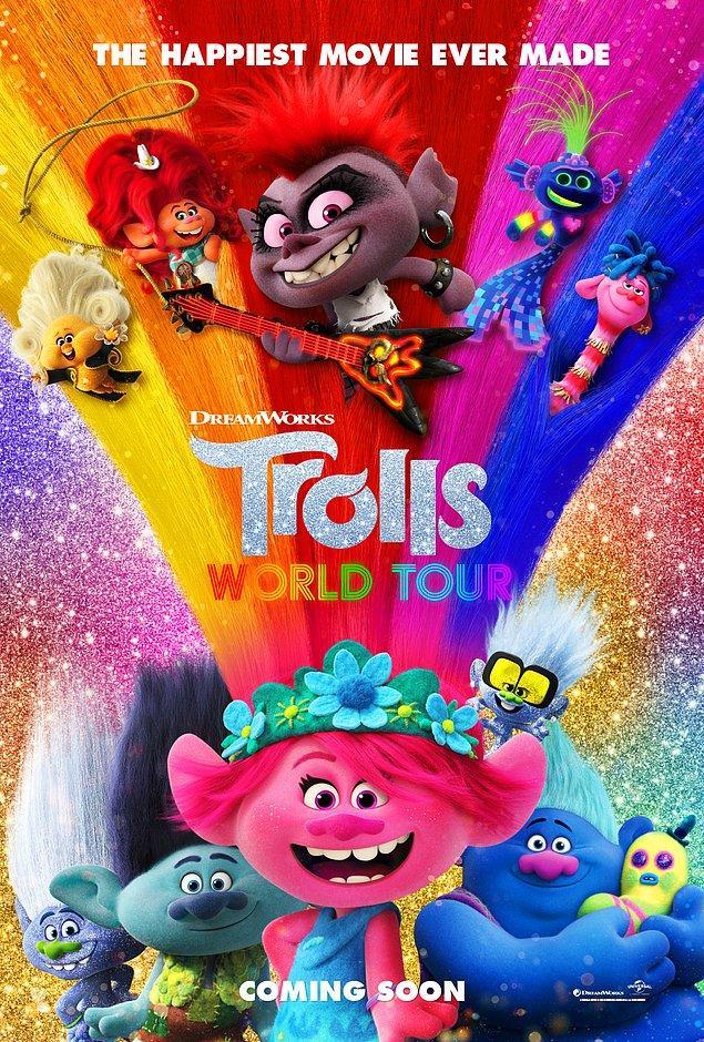 7. Troller Dünya Turu (Trolls World Tour)