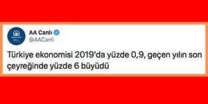 Tüm Ülke Suriye'de Yaşananları Konuşurken Anadolu Ajansı'nın Türkiye'nin Büyüyen Ekonomisiyle İlgili Tweet Atması Tepkilere Neden Oldu