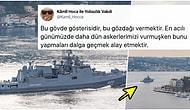 Rusya'nın, Füze Yüklü İki Savaş Gemisini İstanbul Boğazı Üzerinden Suriye Kıyılarına Göndermesi Tepkilerin Odağında