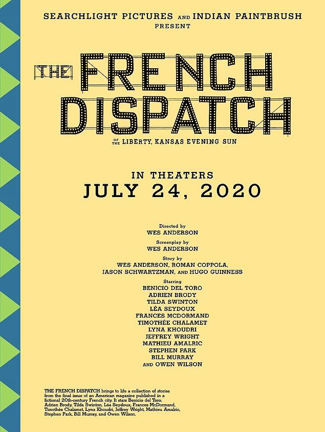 23. The French Dispatch