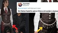 Bir Türk Tasarımcının 'Dilara' Yazılı Kemeriyle Arkadaşının Doğum Gününe Katılan Bella Hadid, Fena Halde Alay Konusu Oldu