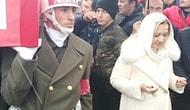 İYİ Parti Milletvekilinin, Şehidin Cenaze Namazı Kılınırken Ön Safa Geçmesine Tepki Yağdı: #FotoğrafınBatsın