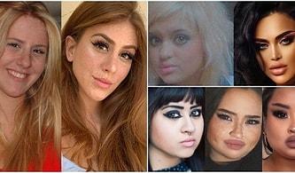 Estetik Dokunuşlar ve Makyajla Görünüşünü Değiştirmeye Kalkıp İşi Abartarak Irkını Değiştiren 15 Kişi