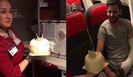 İdlib Gazisine Uçakta Doğum Günü Kutlaması Yapan Güzel İnsanlar!