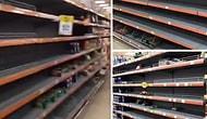 Sağlık Bakanı Fahrettin Koca'nın İlk Koronavirüs Vakasını Açıklamasının Ardından Marketler Resmen Boşaldı!