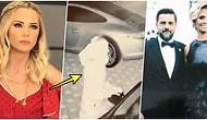 Ece Erken, Gece Yarısı Gizlice Evli Sevgilisi Şafak Mahmutyazıcıoğlu'nun ve Eşinin Arabasının Aynalarını Kırarken Yakalandı