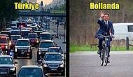 """Hollanda Başbakanının İşe Bisikletle Gitmesinin Altında Yatan Neden: """"Güç Mesafesi Endeksi"""""""