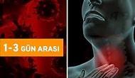 Koronavirüs Salgınına Yakalanan İnsanlarda Görülen Belirtileri Kronolojik Şekilde Gösteren Video