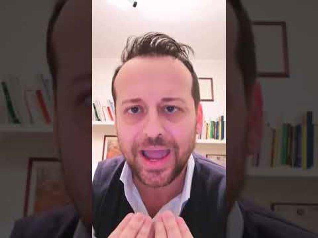 İtalya'nın Sicilya Adası'ndaki Delia kasabasının Belediye Başkanı Gianfilippo Bancheri, paylaştığı videoda, sokağa çıkan vatandaşları eleştirdi.