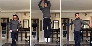 Balet Erhan Güzel'in Zıplayarak Kendi Etrafında Döndüğü Hareketi Yapmak İsterken Ortaya Efsane Görüntüler Çıkartan Yurdum İnsanları