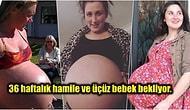Birden Fazla Bebeğe Hamile Olmanın Neye Benzediğini Merak Edenlere Karınlarını Gururla Göstererek Cevap Veren 14 Kadın
