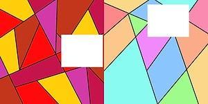 Eğer Bu Renkli Üçgen Testinde 8/10 Yaparsan Beynin Güçlü Çalışıyor Demektir!