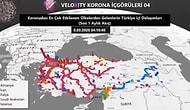 Veloxity'nin Verilerine Göre Koronavirüs, Türkiye'de Nasıl Yayıldı?