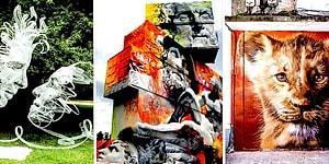 Şehrin Sokaklarına Yaratıcılığın Çarpıcı Gücünü Katıp Ağzımızı Açık Bırakan Sokak Sanatçılarından 20 Çalışma