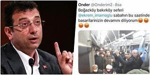 Troller Yine Devrede! Sosyal Medyada Dolaşan Dolu Otobüs Fotoğrafına Ekrem İmamoğlu'ndan Cevap Gecikmedi