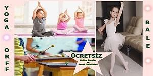 Hem Çocuklar Eğlensin Hem de Anneler Biraz Nefes Alsın! İşte Ücretsiz Verilen Kurslar ve Sanat Etkinlikleri