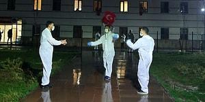 Sivas'taki KYK Yurdunda Karantina Altındaki Öğrenciler İçin Moral Etkinliği: 'Görevliler Çiftetelli Oynadı'