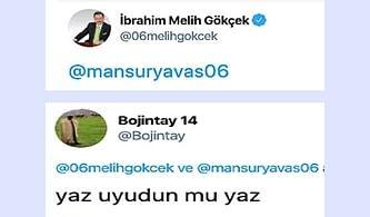 Melih Gökçek Gecenin Köründe Mansur Yavaş'ı Stalklarken Yakalanınca Twitter Şenlendi