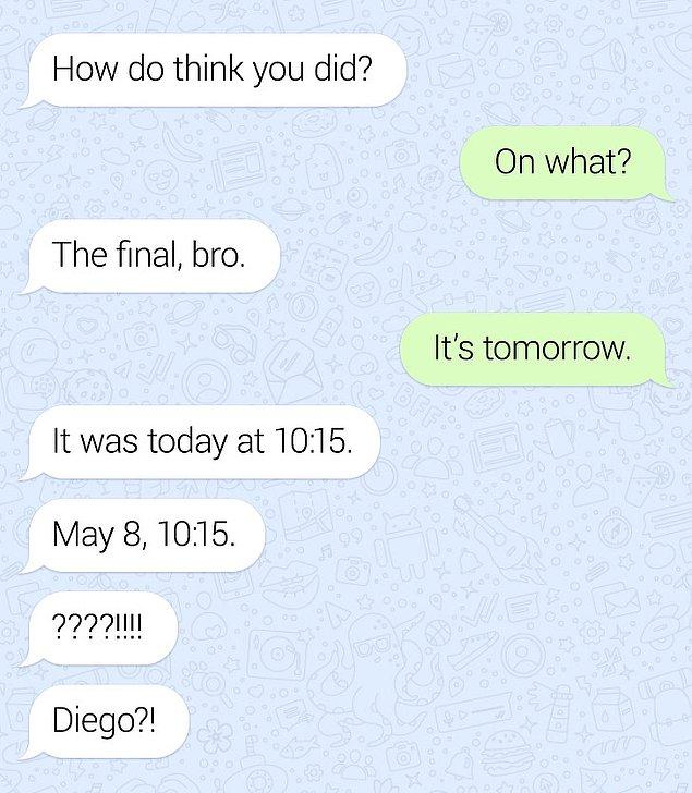 6. Diego, bu günü bir daha asla unutmadı!