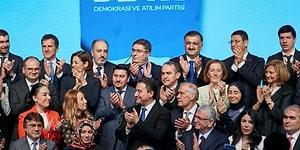 Babacan, DEVA'nın A Takımı'nı Açıkladı: 21 Başkan Yardımcısından 7'si Kadın
