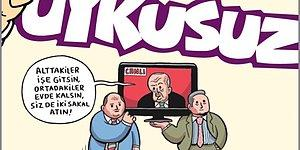 Erdoğan'ın 'Biz Bize Yeteriz Piramidi' Uykusuz'un Kapağında: 'Alttakiler İşe Gitsin, Ortadakiler Evde Kalsın'