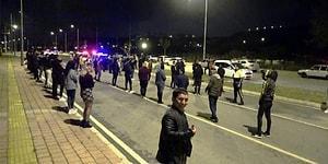 Trafiğe Kapalı Alanda Dansöz Oynatıp Drift Attılar: 51 Kişilik Gruba Polis Baskını