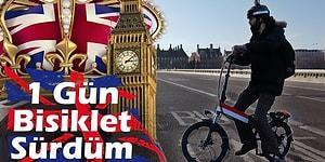 Londra Sokaklarında 1 Gün Boyunca Bisikletle Gezen YouTuber'ın Gözünden Hayalet Şehir