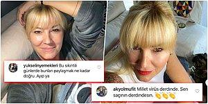 Karantinada Hepimiz Çok Gerginiz! Pınar Altuğ, Fotoğraflarına Ayarsız Yorum Yapanlara Verdiği Cevaplarla Herkesi Güldürüyor