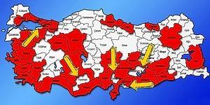 Giriş Çıkış Yasağı Olan İllerin Ortasında Kalan Yalova, Osmaniye, Kilis, Karaman ve Adıyaman'a Ne Olacak?
