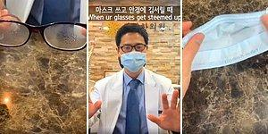 Gözlük Kullananlar İçin Buğulanmayı Önlemek Adına Pratik Maske Kullanımı