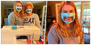 21 Yaşındaki Öğrencinin İşitme Engelliler ve Duyma Güçlüğü Yaşayanlar İçin Ürettiği Maskeler Gönülleri Fethetti!