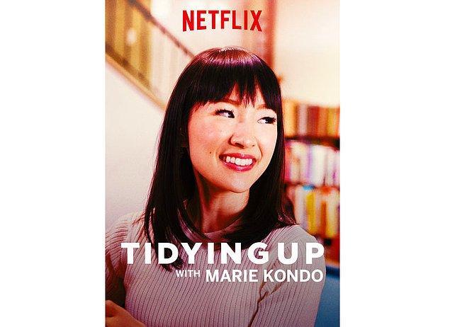 Tüm gün evi düzenleyenlere: Tidying Up with Marie Kondo