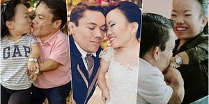 Dünyanın En Küçük Evli Bireyleri Olup Rekorlar Kitabına Girerek Aşkın Engel Tanımadığını Gösteren Minnoş Çiftimiz!