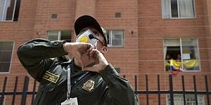 Kolombiya Polisi, Karantina Altındaki İnsanlara Sokaktan Zumba Dersi Verdi