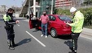 Yasağa Uymayan Alkollü Sürücüden Polise: 'Ben Sokağa Çıkmadım, Arabamın İçinde Oturdum'