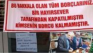 İyilik Gerçekten de Bulaşıcı! Türkiye'nin Dört Bir Yanından Hayırseverler Veresiye Defterlerini Kapattırmaya Başladı