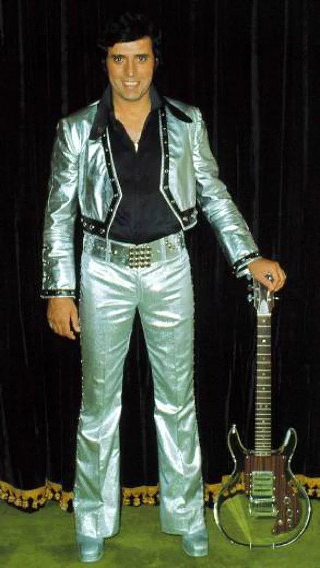 12. Yerli ve milli Elvis'imiz, saksı olmayan adam Erol Büyükburç!