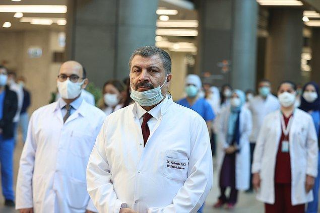 Bakan Koca: Hastane bütünüyle 15 Mayıs'ta faaliyete geçecek