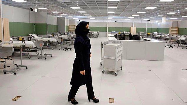 İran'da ölü sayısı 5 bin 391'e yükseldi