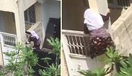 Evde Kalmaktan Bunalan 75 Yaşındaki Kadın Duvardan Atlayarak Firar Etti