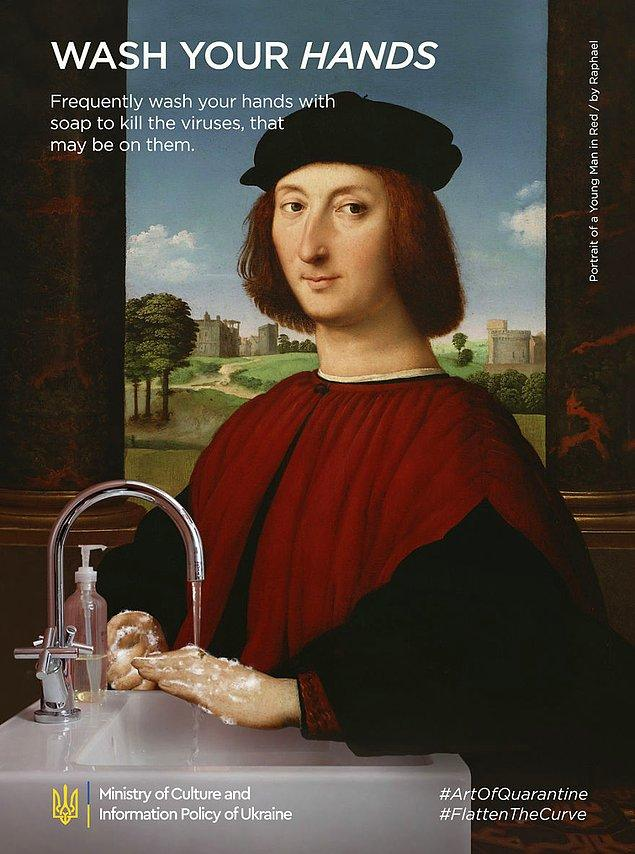 9. Raphael, ''Portrait Of A Young Man''