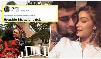 Zayn Malik ile Bir Ayrılıp Bir Barışan Dünyaca Ünlü Model Gigi Hadid'in 20 Haftalık Hamile Olduğu Öğrenildi!