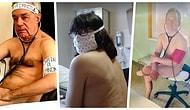 Alman Doktorlar Yaşadıkları Koruyucu Ekipman Eksikliğine Dikkat Çekmek İçin Çıplak Poz Verdiler!