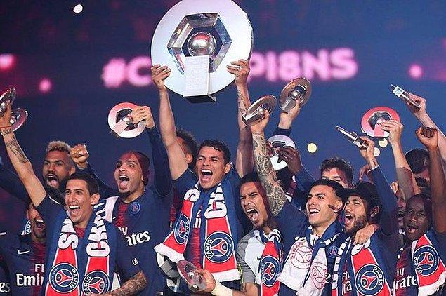 15. Ligue 1 yönetimi, mevcut sıralamayı göz önünde bulundurarak sezonun tescil edildiğini ve PSG'nin şampiyon ilan edildiğini açıkladı.