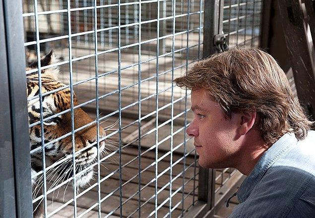 7. Matt Damon - Yılan korkusu ('We Bought a Zoo')