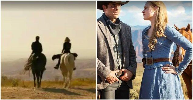 16. Dolores'in Caleb'a Meksika'daki hayatını görsel ve müziksel olarak anlattığı sahne ise direkt olarak 1. sezonda Teddy ile konuşmasına gönderme.