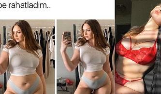 Bedenini Photoshopla İnceltenlere Kapak Gibi Bir Cevap Vermişti: Büyük Beden Modelin Kendi Fotoğraflarına da Aynısını Yaptığı Ortaya Çıktı